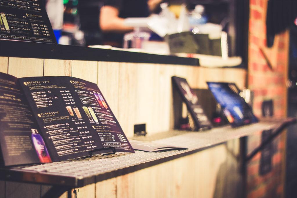 あなたのお店にメニュー表はありますか?