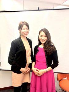 ビジョンマップセミナー@東京にお越し下さった継続コース受講中のN様と