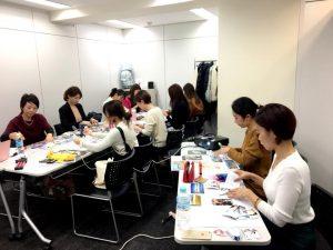 ビジョンマップセミナー@東京。各自のマップ作成風景